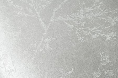Graham & Brown White & Pearl Subtle Leaf Design Wallpaper