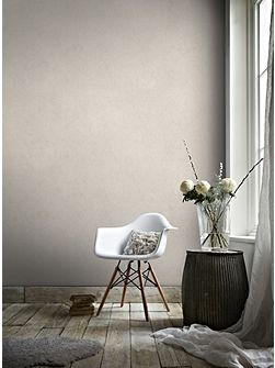 Tranquil Rose Gold Plain Natural Effect Wallpaper