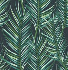Graham & Brown Palm Leaf Green Wallpaper