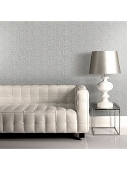 Jive Metallic Geometric Silver/Metallic Wallpaper