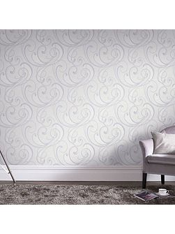 Flamenco Textured Geometric Pastel Wallpaper