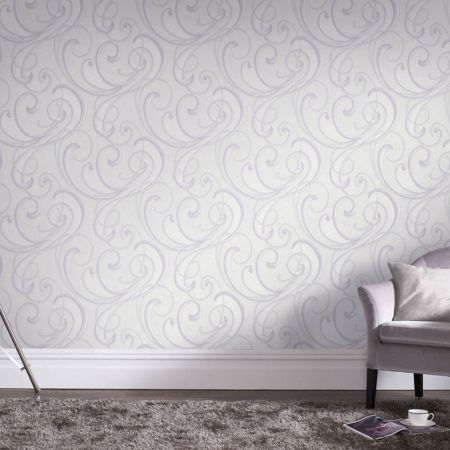 Graham & Brown Flamenco Textured Geometric Pastel Wallpaper