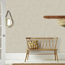 Graham & Brown Twist Metallic Taupe/Silver Wallpaper