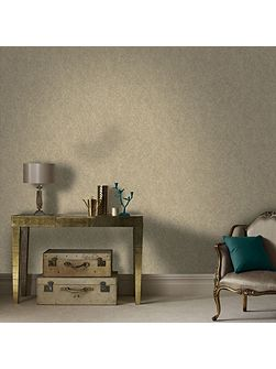 Twist Metallic Beige/Gold Wallpaper