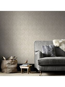 Boutique Devore Metallic Cream/Gold Wallpaper