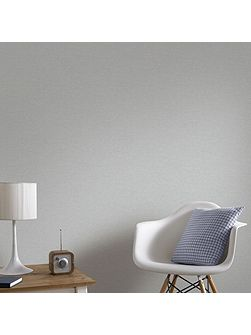 Boutique Shimmer Textured Silver Wallpaper
