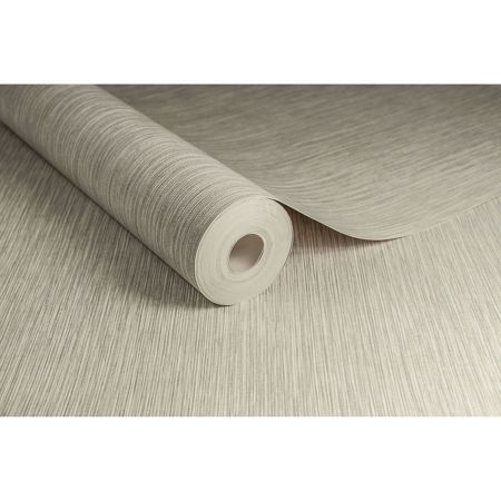 Graham & Brown Boutique Grasscloth Cream Textured Wallpaper