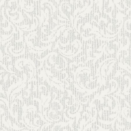 Graham & Brown Boutique Cashmere Metallic White/Silver Wallpaper