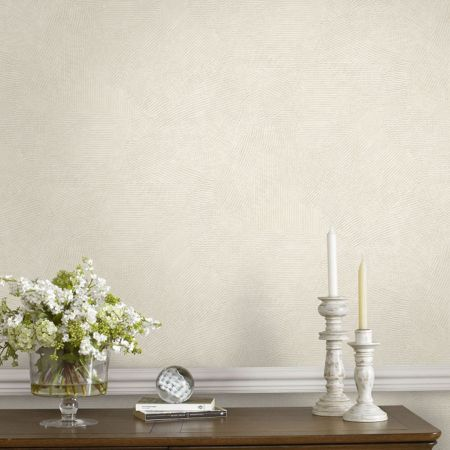 Graham & Brown Boutique Moonstone Textured Cream Wallpaper