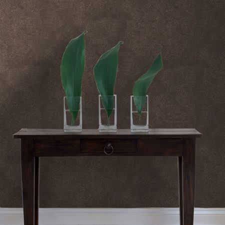 Graham & Brown Boutique Moonstone Chocolate/Copper Wallpaper