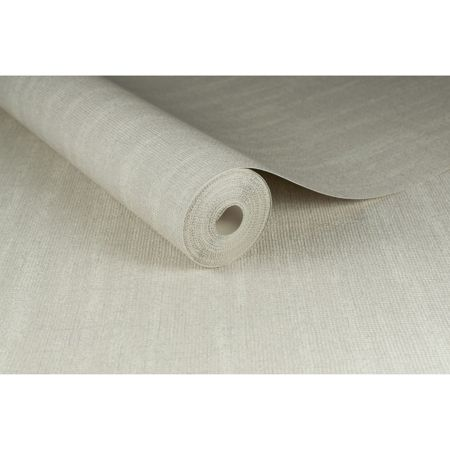 Graham & Brown Boutique Chenille Metallic White Wallpaper