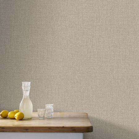 Graham & Brown Boutique Chenille Metallic Bronze Wallpaper