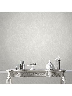Boutique Opal Textured White Wallpaper