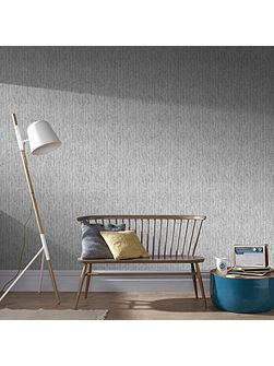 Boutique Devore Metallic Silver Wallpaper