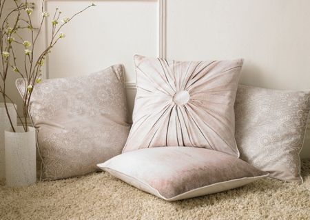 Graham & Brown Printed Lace 1 Effect Cushion