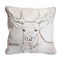 Graham & Brown Printed Free Spirit Stag Cushion