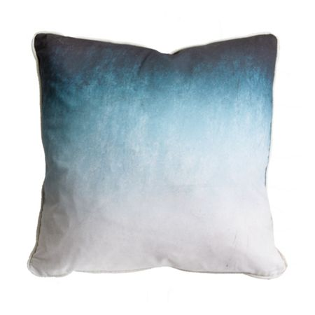 Graham & Brown Blue Ink Ombre Cushion