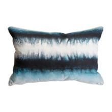 Graham & Brown Blue Ink Tie Dye Cushion