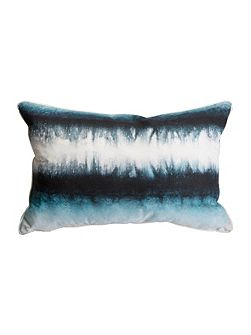 Blue Ink Tie Dye Cushion