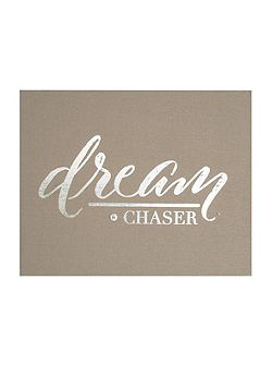 Dream Chaser Embellished Fabric Wall Art