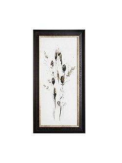Seed Head 1 Metallic Framed Print Wall Aty