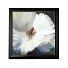 Graham & Brown Glamour Floral Metallic Framed Print Wall Art