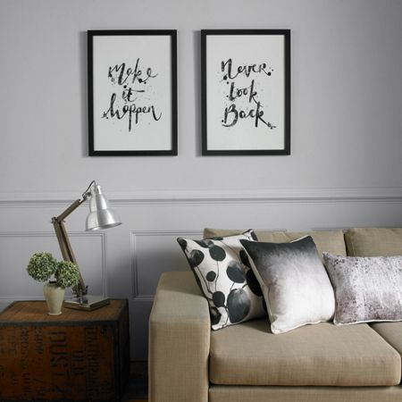 Graham & Brown Make It Happen Framed Print Wall Art