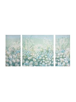 Watercolour Spring Meadow Wall Art