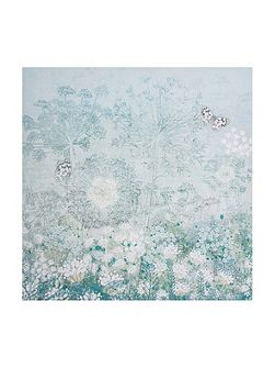 Watercolour Spring Floral Wall Art