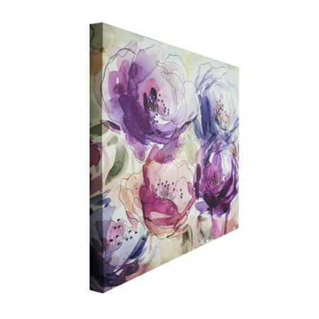 Graham & Brown Stitched Spring Blooms Canvas
