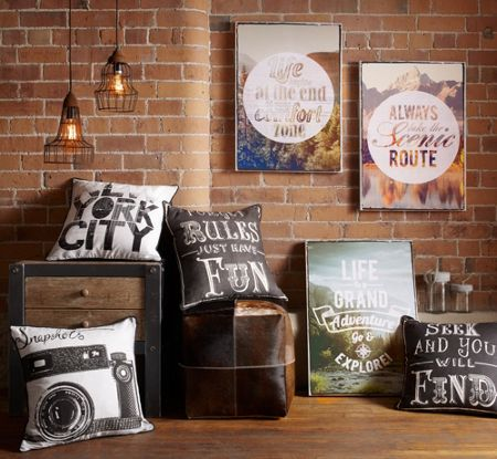 Graham & Brown Life Is An Adventure Printed Wall Art