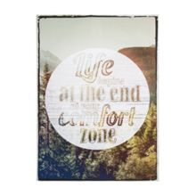 Graham & Brown Life Begins Quote Wall Art