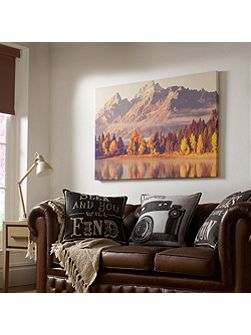 Autumnal Mountains Printed Wall Art