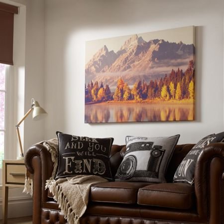 Graham & Brown Autumnal Mountains Printed Wall Art