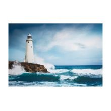 Graham & Brown Blue Drama Shore Wall Art