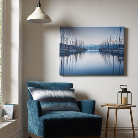 Graham & Brown Blue Harbour Reflections Wall Art
