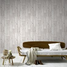 Graham & Brown Wood Panel Plank Effect Wallpaper
