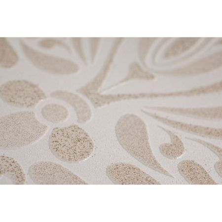 Graham & Brown Glamour Damask Cream/Gold Wallpaper