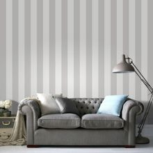 Graham & Brown Sparkle Stripe White/Silver Wallpaper