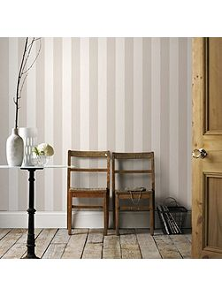Sparkle Stripe Beige/Champagne Wallpaper