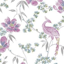 Graham & Brown LLB Singapore Floral Oriental Multi Wallpaper