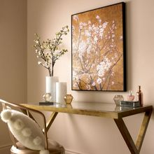 Graham & Brown Oriental blossom hand painted framed canvas