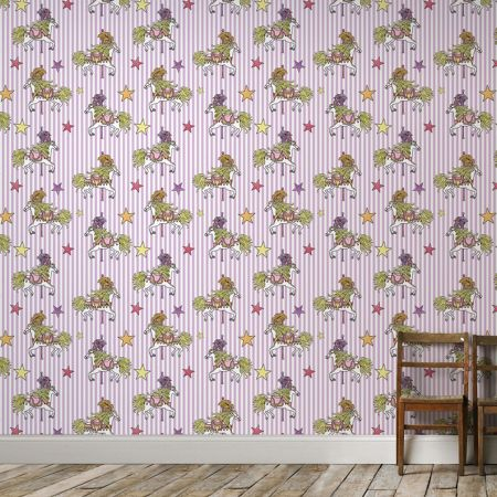 Graham & Brown Carousel Funfair Stripe Wallpaper