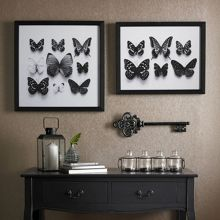 Graham & Brown Botanical butterflies framed print