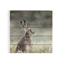 Graham & Brown Hare print on wood