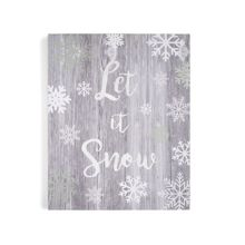 Graham & Brown Let it snow canvas