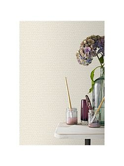 Cream Weave Designer Wallpaper