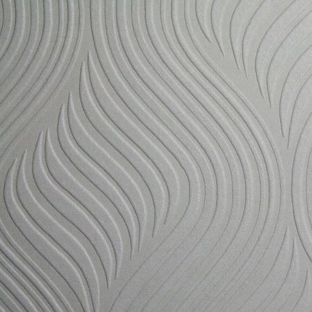 Graham & Brown White Pure Wallpaper Sample