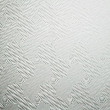 Graham & Brown White geometric wallpaper