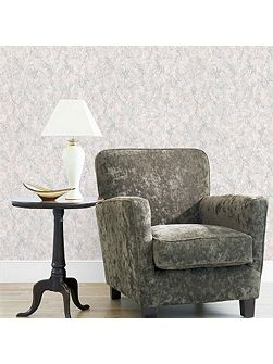 Green Melrose Textured Wallpaper